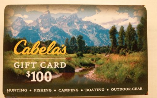 $100 Cabela\'s Gift Card | Free mail, Mail delivery and Gift
