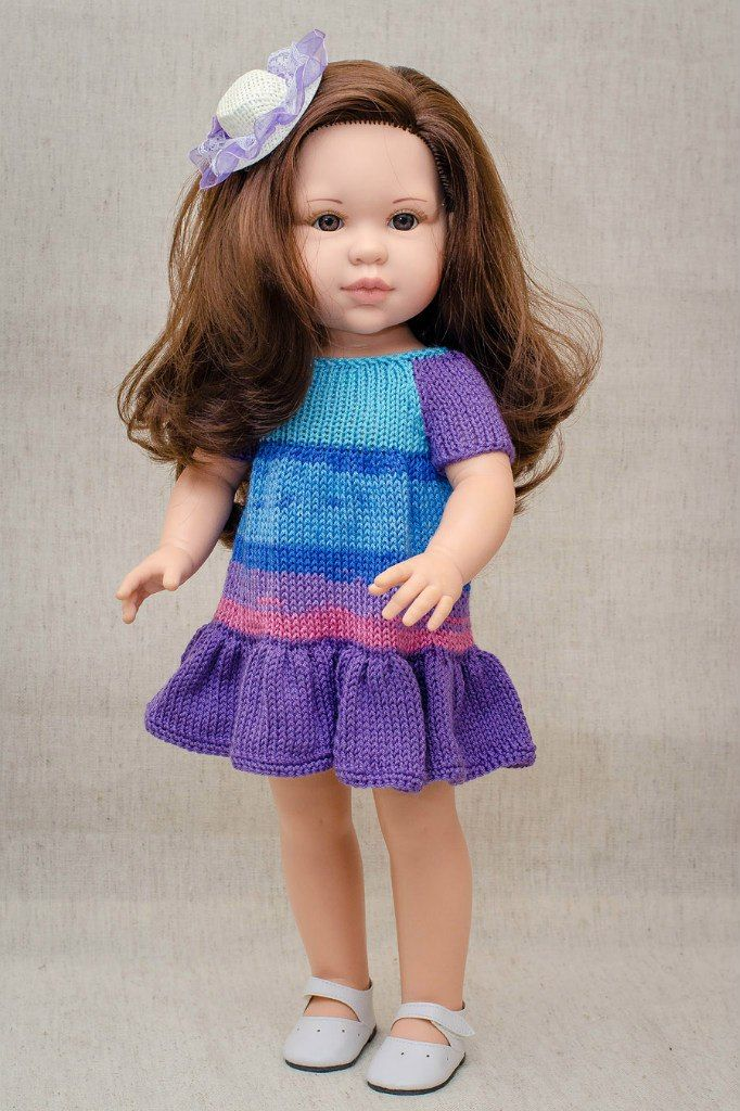вязаная одежда для кукол кукламода вконтакте вязание для кукол