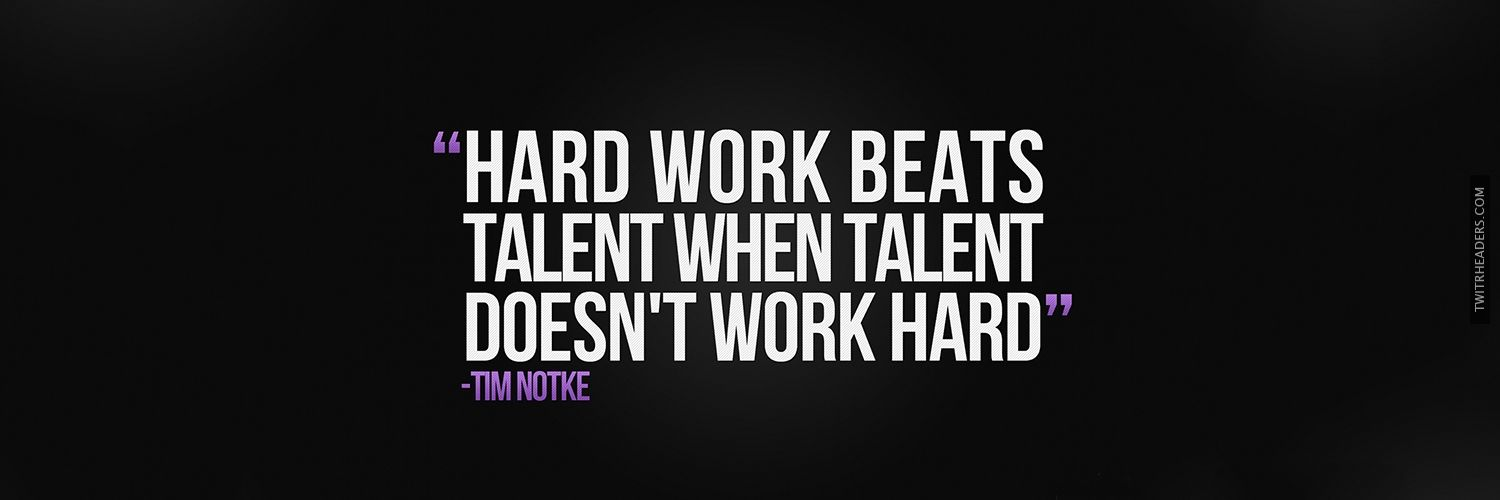 work hard quotes twitter header cover