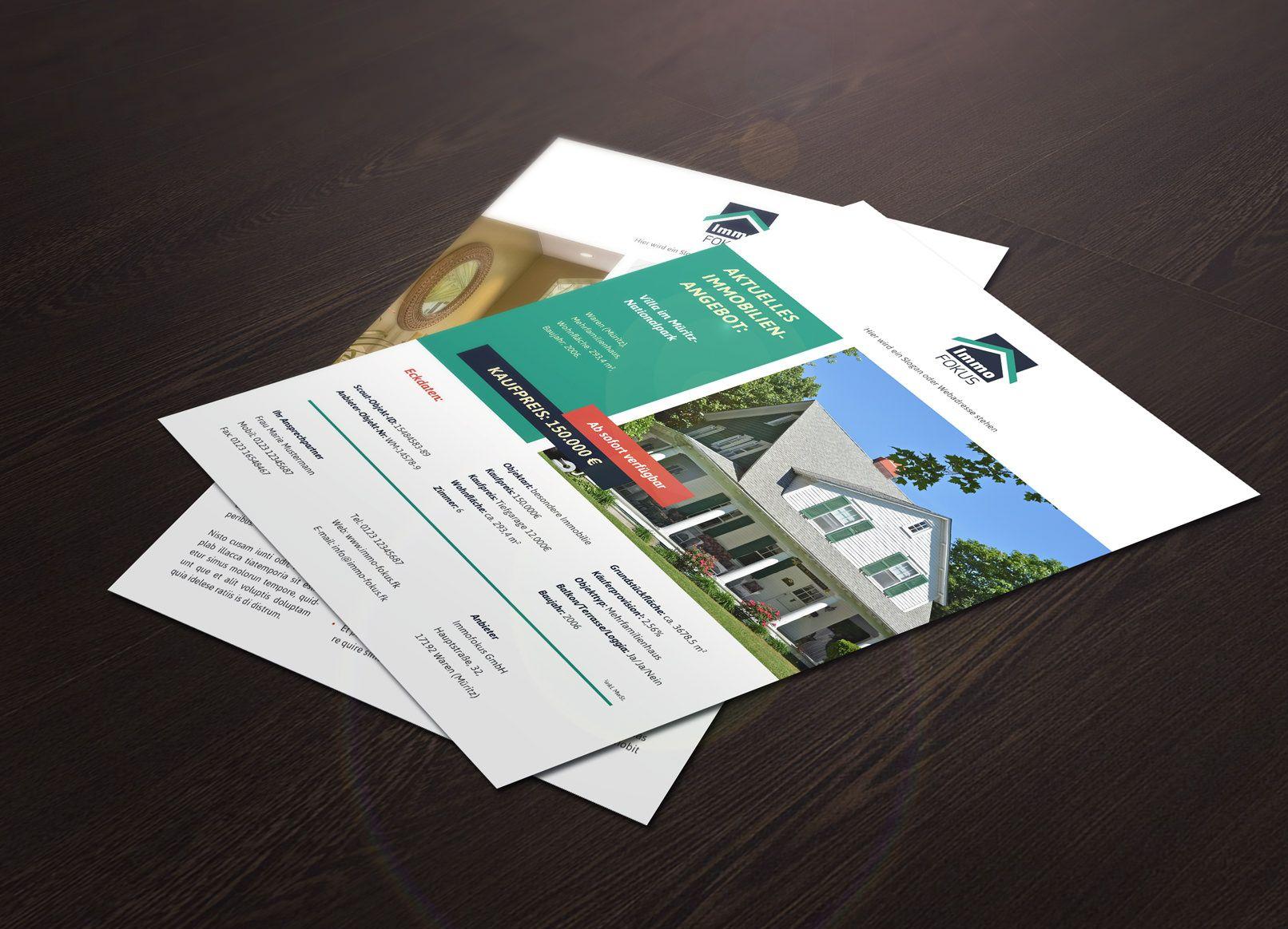 Hochwertige Immobilien Expose Vorlagen Expose Immobilien Vorlagen Word Immobilien