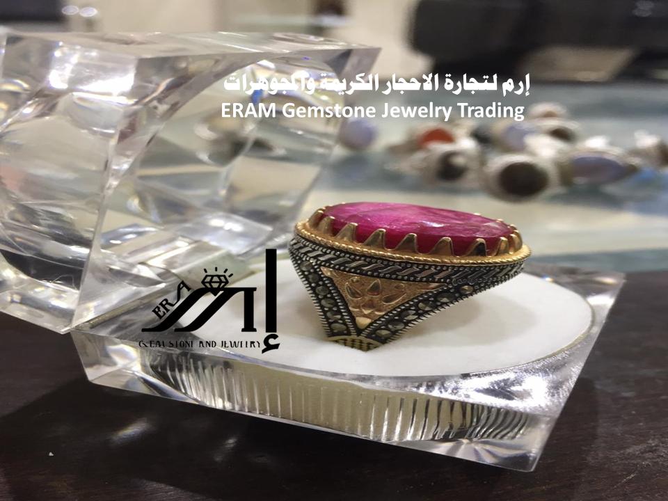 خاتم ياقوت هندي طبيعي Ruby Gemstones Gemstone Jewelry Jewelry