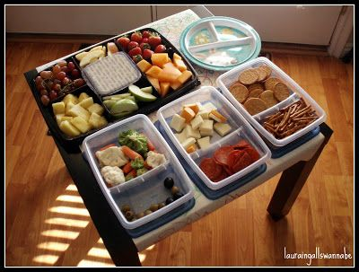 Toddler lunches buffet style toddler food pinterest toddler food toddler lunches buffet style forumfinder Image collections
