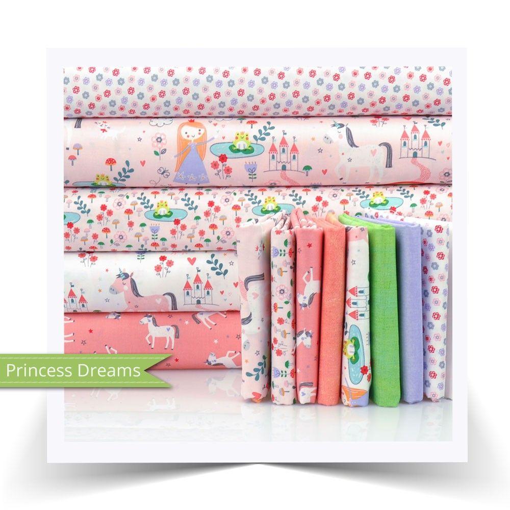 Fat quarter bundle riley blake princess dreams fabrics riley