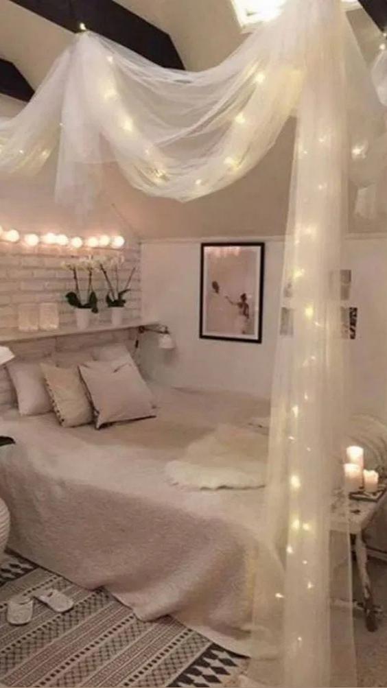 go show them some love on tiktok @glitteredkoi [Video] in 2021   Dressing room design, Room inspo, Diy bedroom decor
