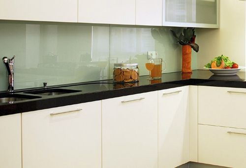 Backpainted Glass   Splash Is Too Light Or Counter Too Dark