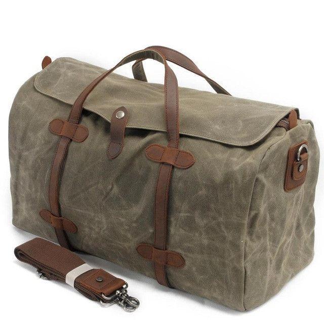 6c333621e46 Men Duffle Bag Leisure Waterproof Travel Bag   Luggage   Pinterest ...