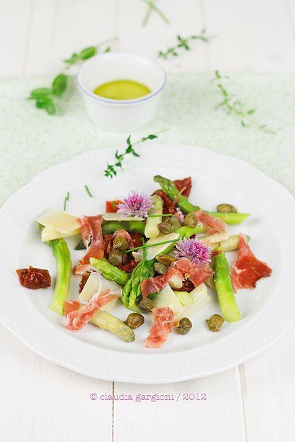 insalata asparagi, via Flickr.