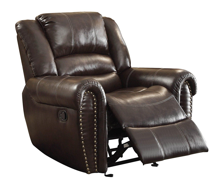 Braun Leder Liege Stuhl - - Brown-Leder-Lehnstuhl : eine ...