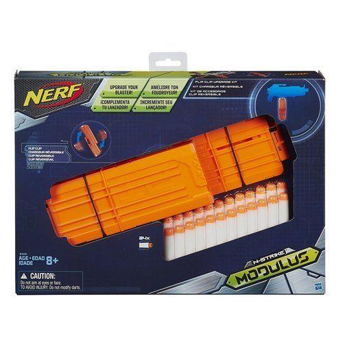 Take your Nerf Modulus ECS-10 blaster (sold separately) to the next level