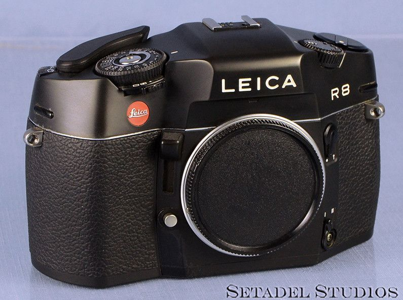 Leica Leitz R8 10081 Black Reflex Camera Body n.2433943 +Cap Clean Nice