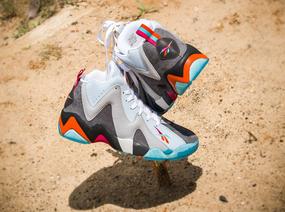 """100% authentic 7af2c 622e0 Mitchell & Ness x Packer Shoes x Reebok Kamikaze II Mid """"Remember the Alamo""""  1996 NBA All-Star Pack"""