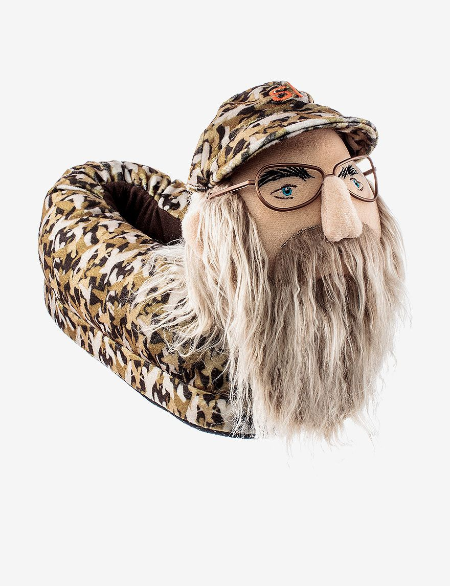 Duck Dynasty Uncle Si Camo House Slippers Men S Stage