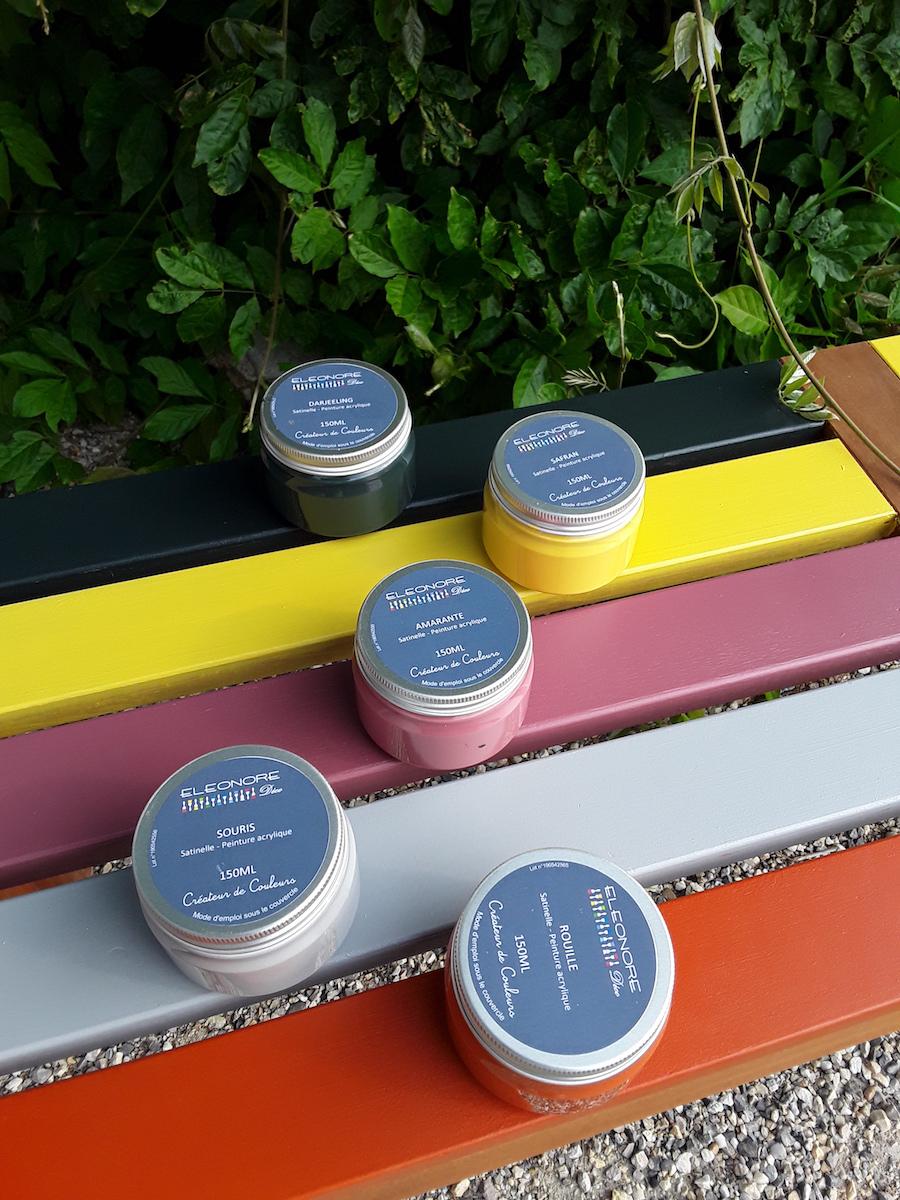 Les couleurs de l'été 2019 - des teintes toniques pour egayer la maison   Peinture eleonore ...