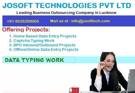 Outsourcing projects at home