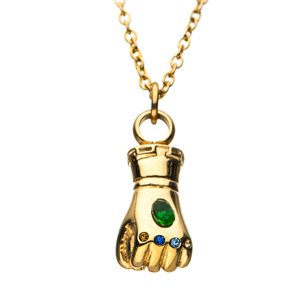 Celebrate The Latest Instalment Of The Avengers Series With This Avengers Infinity War Infinity Gauntlet Necklace Marvel Jewelry Avengers Infinity War