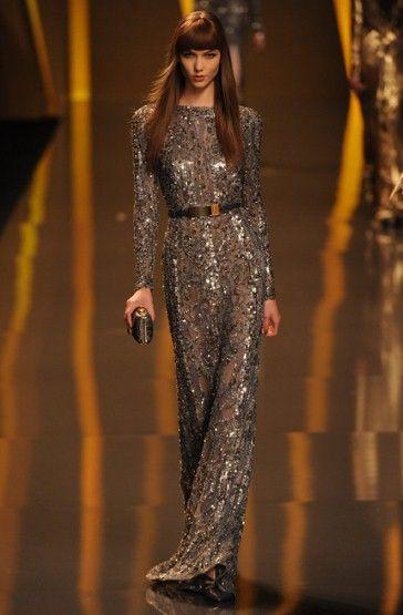 the man is a genius.  Elie Saab F/W 2012  Paris Fashion week