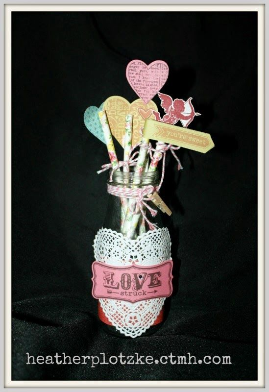 Heather Plotzke: Quick and Easy Valentine decoration and gift - Hea...