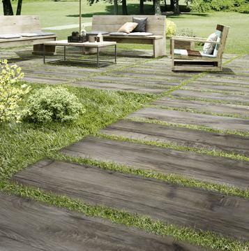 Fliesen Außenbereich Holzoptik Marazzi Terrassenfliesen - Gartenplatten in holzoptik