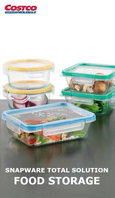 Product. Snapware Total Solution Glass Food Storage Set ...  sc 1 st  Pinterest & The Snapware Total Solution 18-pc Pyrex Glass Food Storage set ...