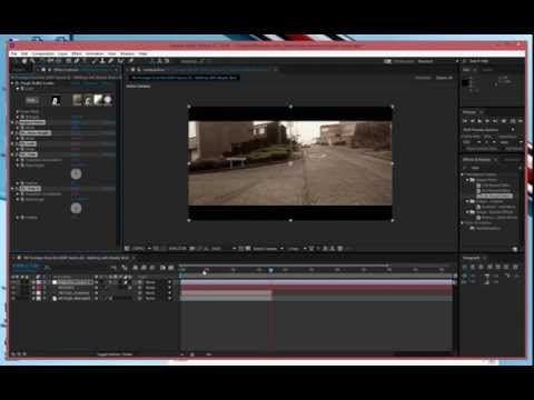 Adobe Aafter Effects 3d Text Camera Tracking Tutorial Youtube
