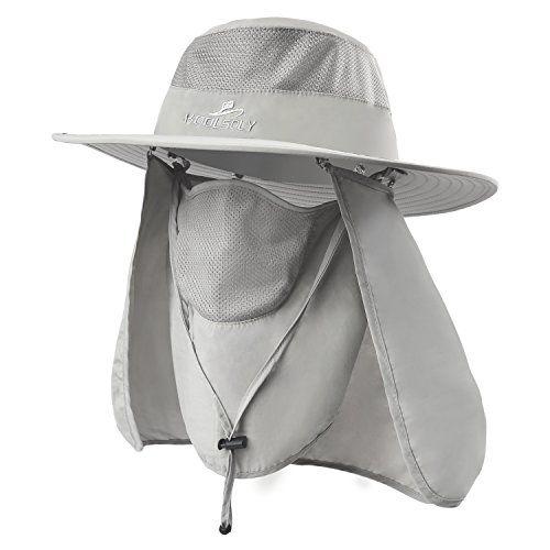 dddc7ad861756 KOOLSOLY Outdoor Sun Cap For Men Women