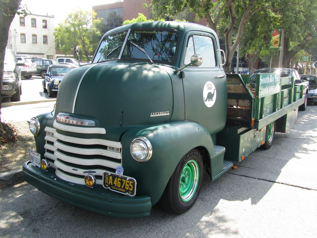 Truck 1948 chevy panel truck : Chevrolet COE Truck - 1948 | cars and trucks | Pinterest ...