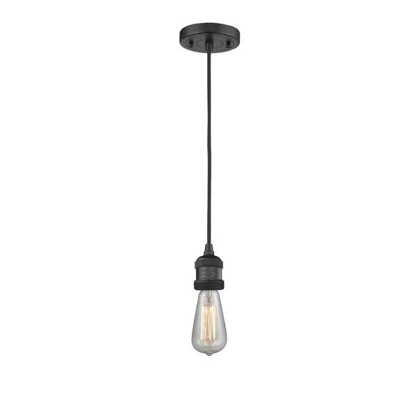 Mignone 1 Light Single Bulb Pendant Innovations Lighting Bulb Light