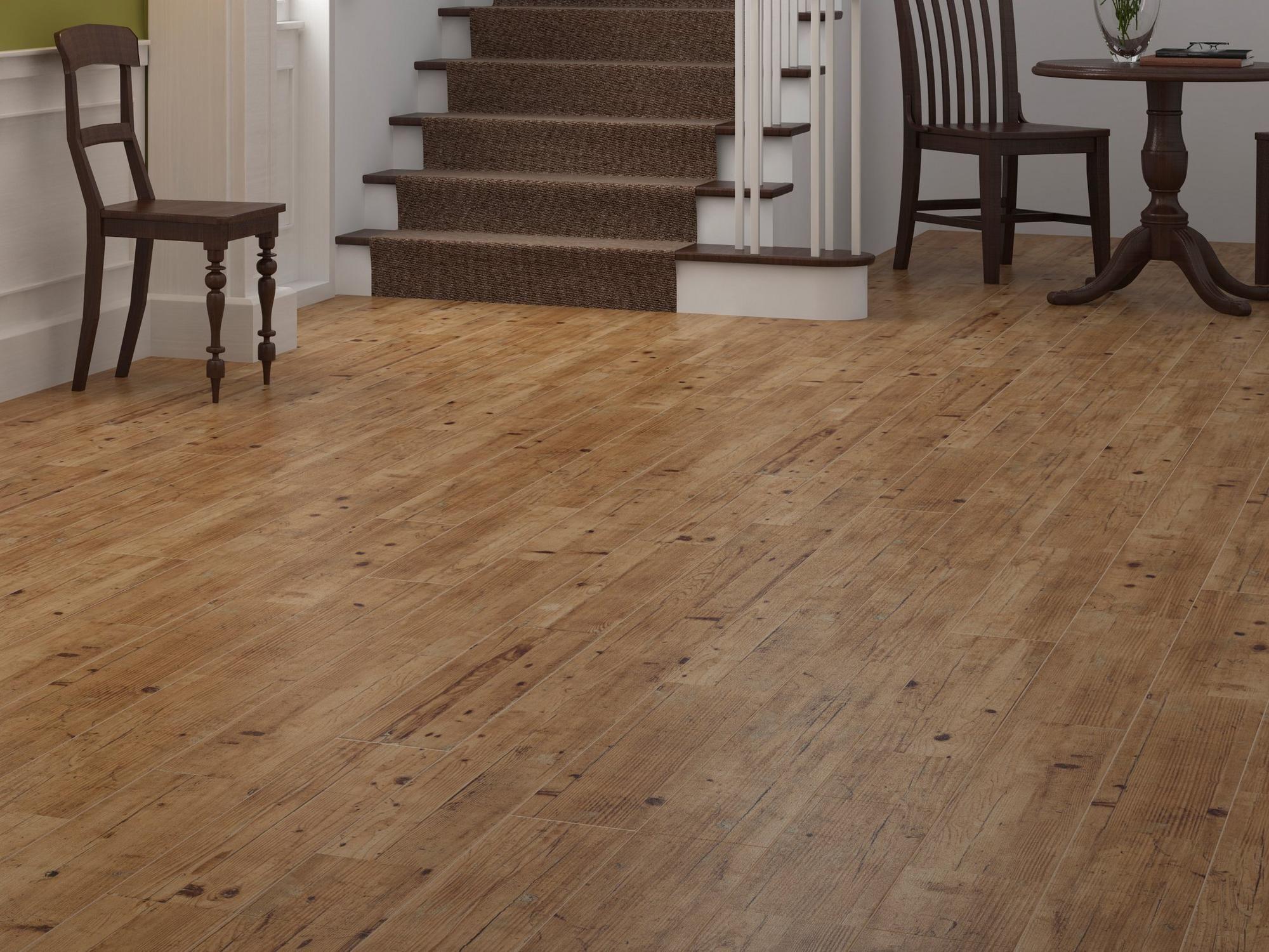 Brunswick Oak Wood Plank Ceramic Tile Floor Decor In 2020 Wood Planks Ceramic Floor Tiles Wood Look Tile