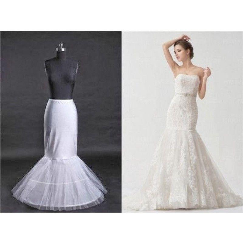 jupon de mariage robe mariee sirene 2 cerceaux.