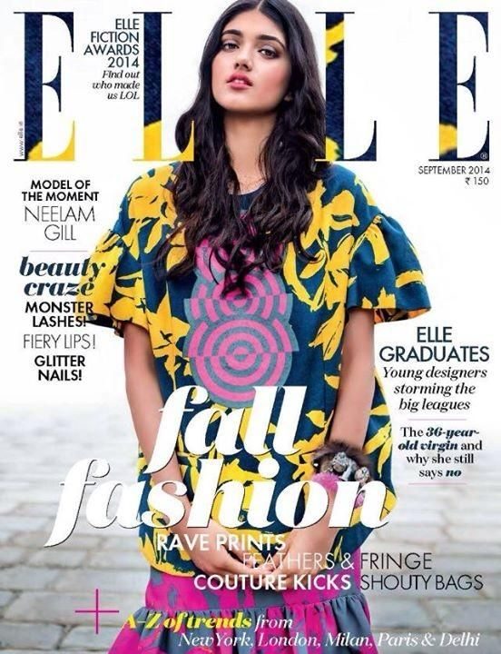 Elle India September 2014 Cover