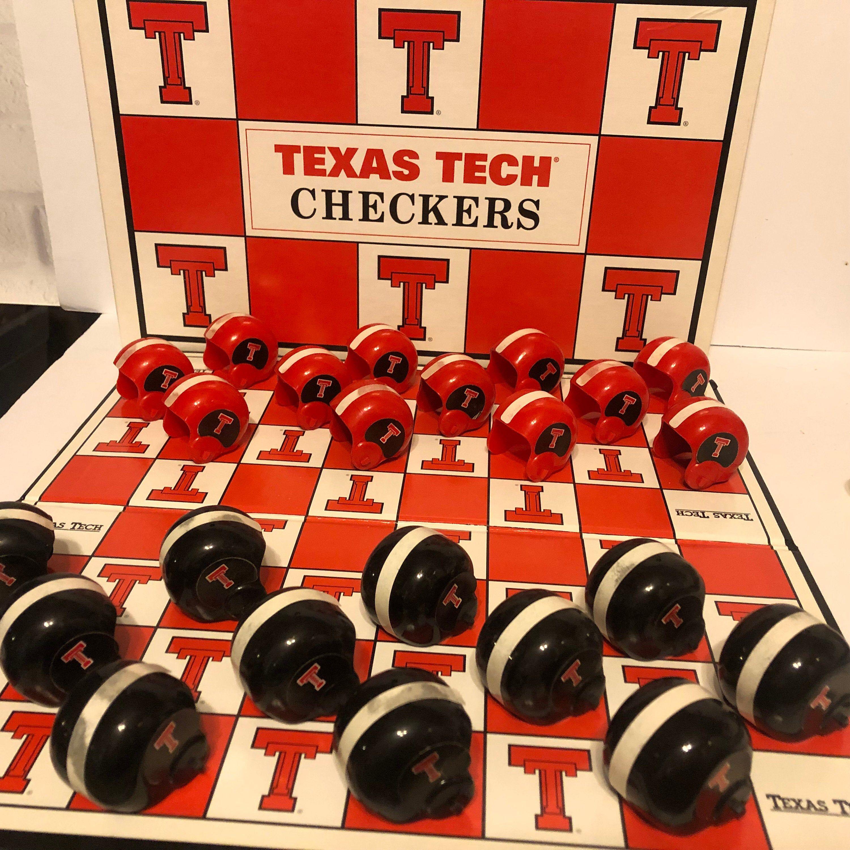 Texas Tech Univeristy Red Raiders NCAA Football Helmet