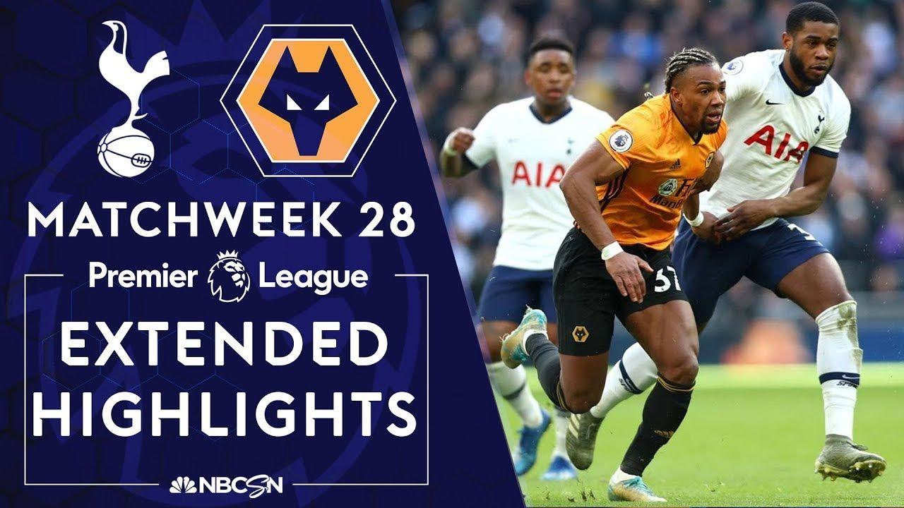 Tottenham v. Wolves PREMIER LEAGUE HIGHLIGHTS 3/1/2020
