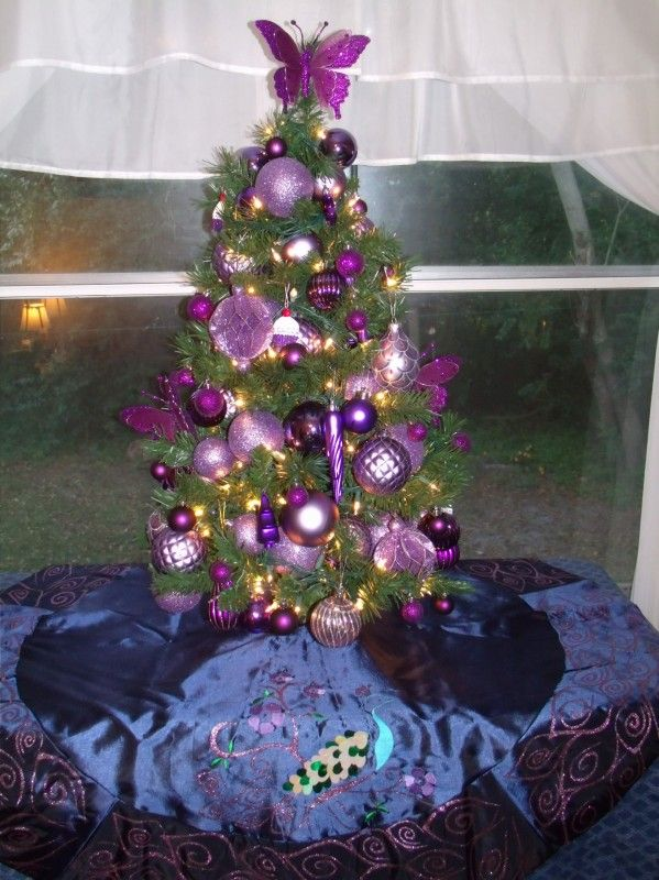 Brandy's purple tree 2013