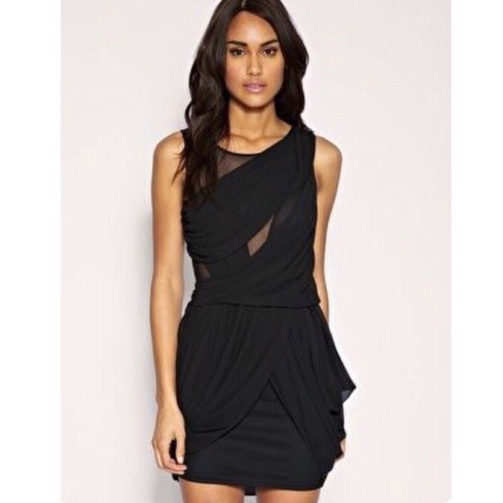 Boutique boohoo black bodycon dress near me for women for tall