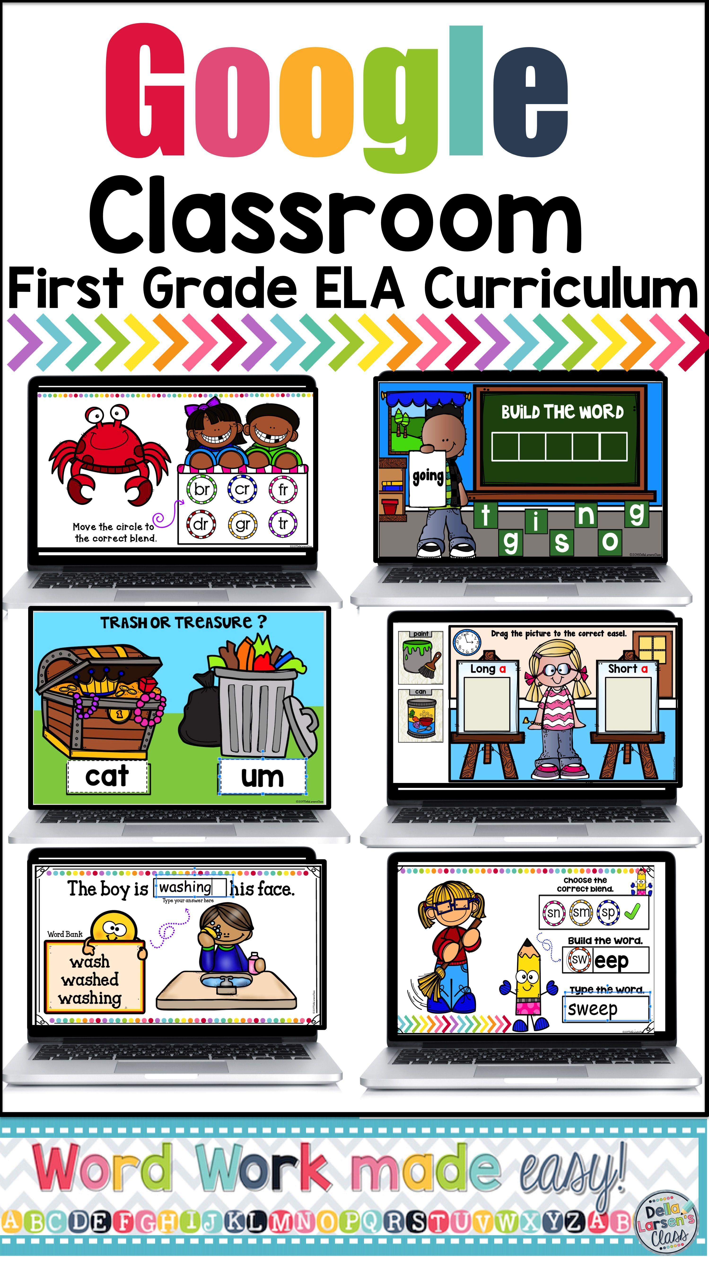 First Grade Mega Ela Curriculum For Classroom