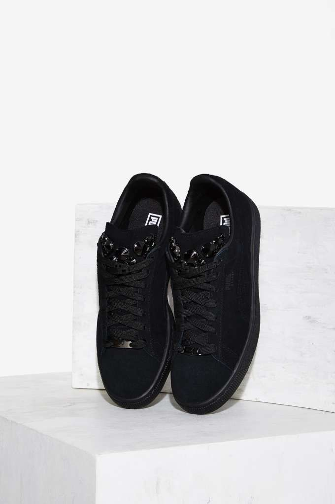 separation shoes 012c2 13ce2 PUMA Basket Jewels Suede Sneaker - Shoes   Sneakers