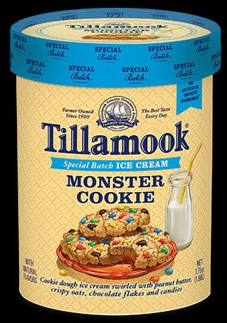 Tillamook Has Launched Monster Cookie Ice Cream