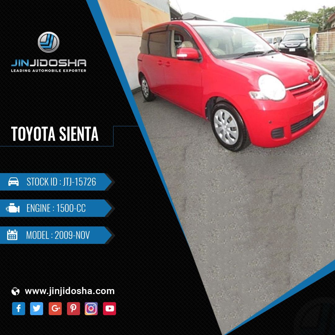 Your Toyota Sienta In Our Stock Now! View Car Details