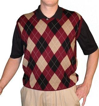fcb377e96dd9c0 Golf Knickers: Men's Sweater Vest Argyle. Buy it @ ReadyGolf.com # golfknickers