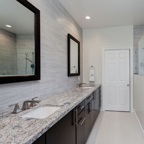 New azul aran countertop metalwood argento walls for Argento cade cabine