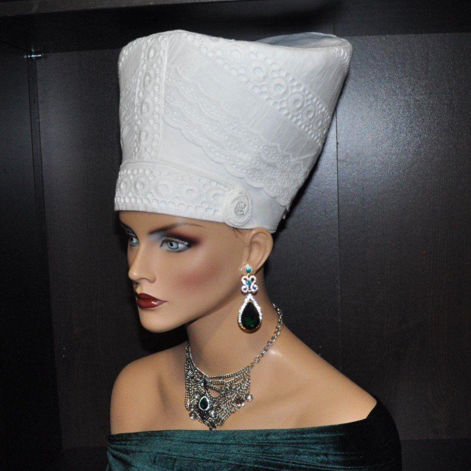 Nefertiti Hat Queen Nefertiti Inspired Hat African Fabric Etsy African Fabric Queen Nefertiti Nefertiti