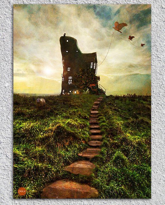 A015 Lovegood House By Digitdreams On Etsy Fantasy Art
