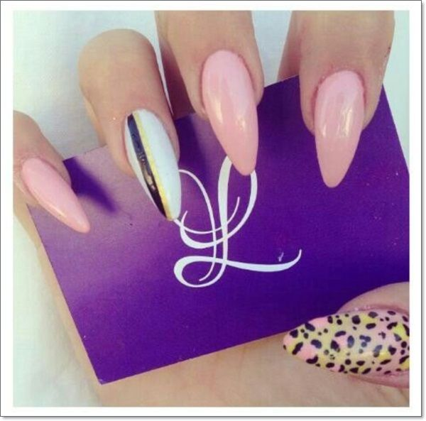 pointed nail designs