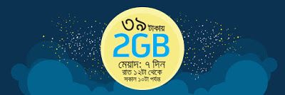gp new internet offer free mb offer latest night pack grammenphone