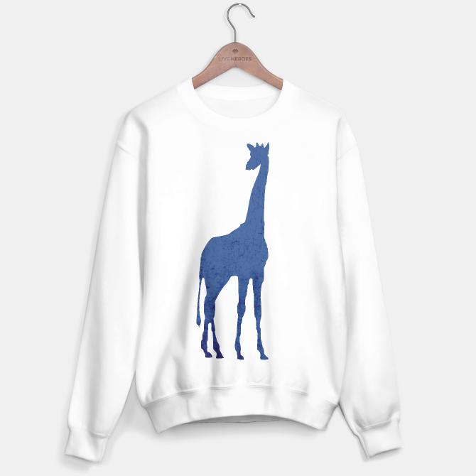 #giraffe #blue #animal #fashion #stylish #style