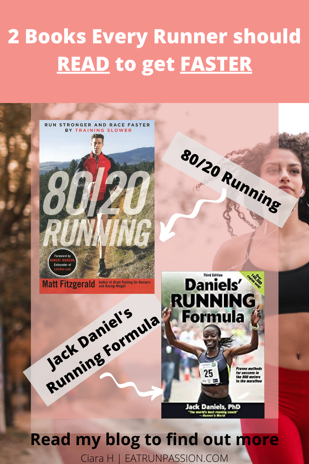 Reading can help you save money on expensive runner marathon, half-marathon, 10km & 5km training training plans. It can be hard to pick out info relevant to you. BUT great satisfaction can come from creating your own running plan based on learning. The added bonus is when you implement what you have learnt and you PR. My fastest 10km time of 39mins came from following Jack Daniel's formula principles. Link takes you to some fun workout suggestions based on ideas from the two books #runningtips