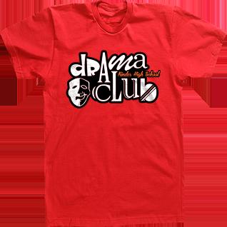 Drama Club T-shirts Custom High School Tees Tshirts Mask   Theatre ...