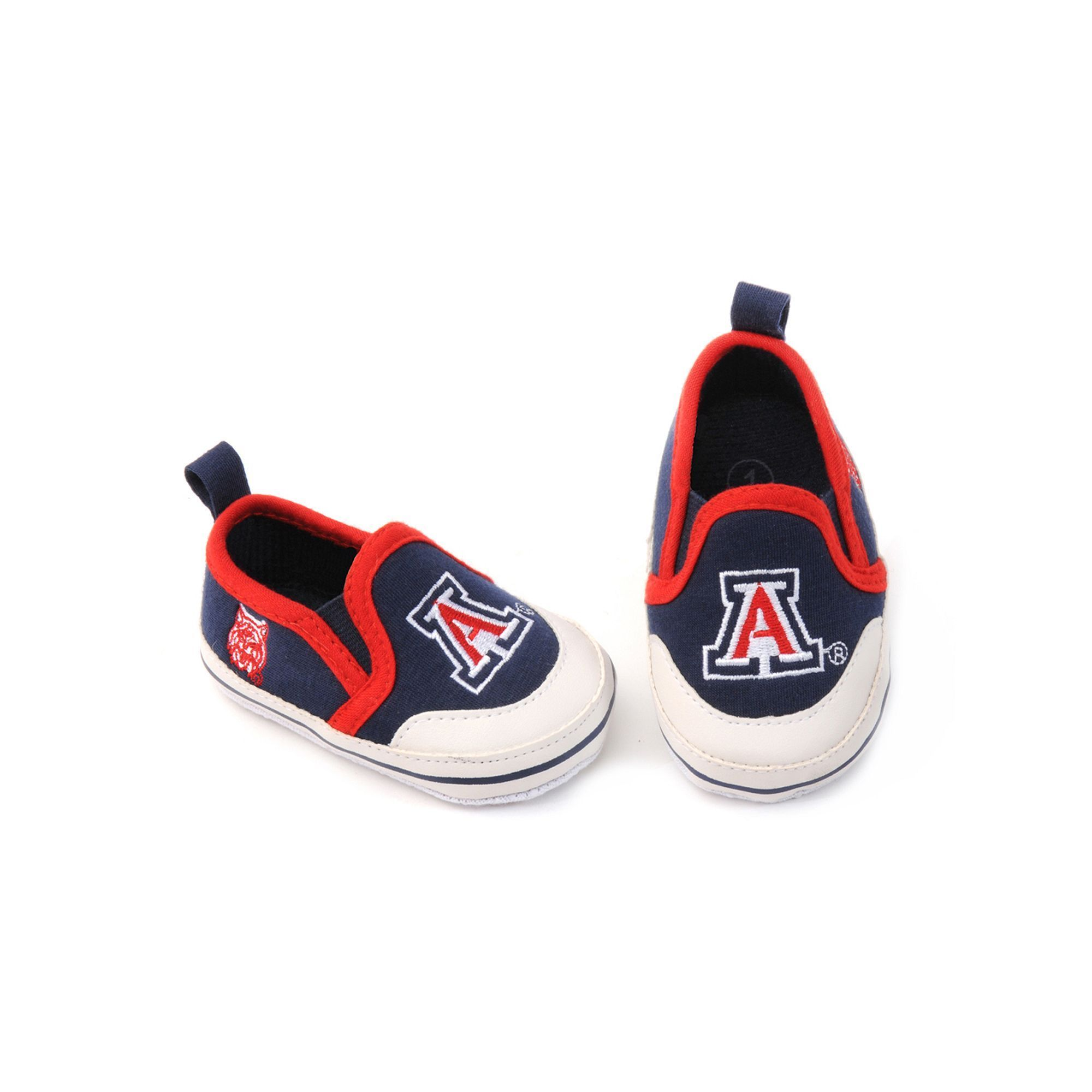 Arizona Wildcats Crib Shoes Baby Infant Uni Size 9 12MONTHS