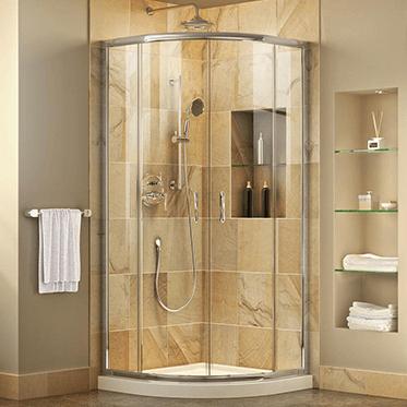 Shower Kits With Base And Door Combination Shower Doors Shower