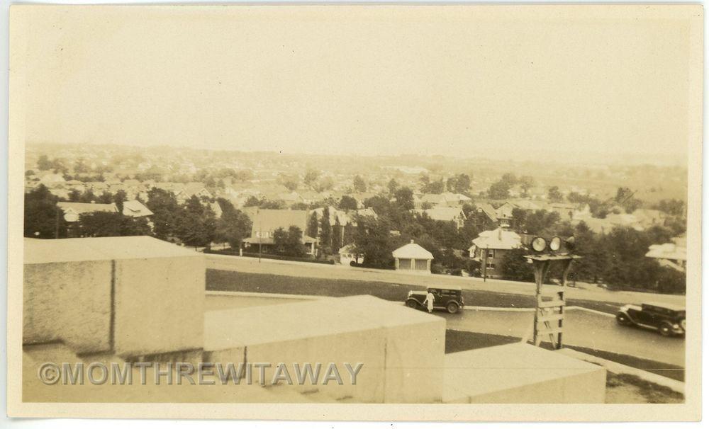 1932 PHOTO VA Virginia Alexandria View From George Washington Masonic Memorial